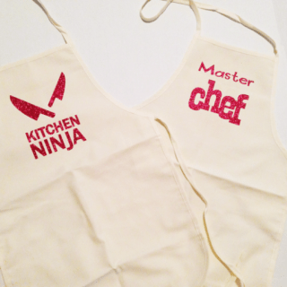 Cute Kids Aprons With Cricut