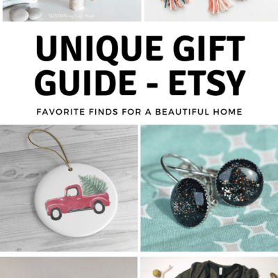 One of A Kind Gift Ideas – Etsy Gift Guide