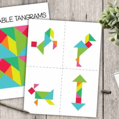 Printable Tangram Puzzle