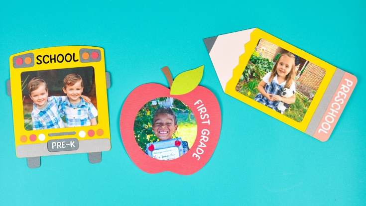 Back to School Frames with the Cricut