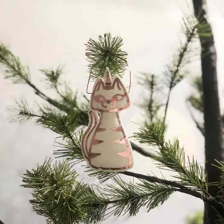 Caticorn Ornament