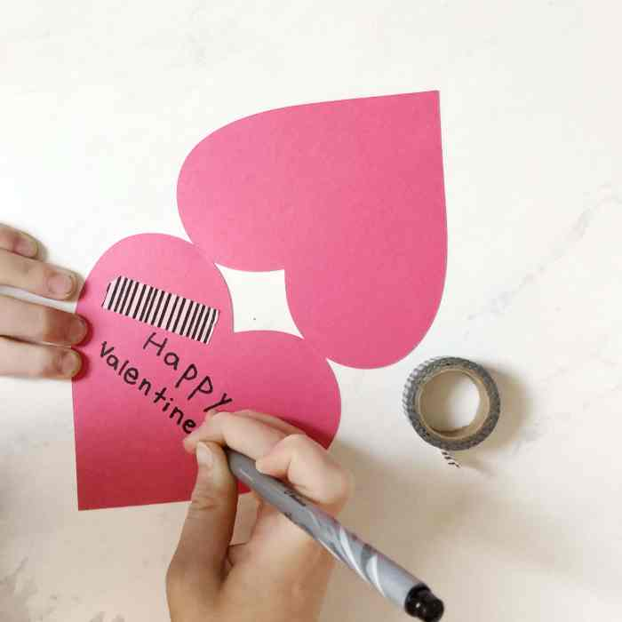 DIY Valentines cards made easy with the Cricut,