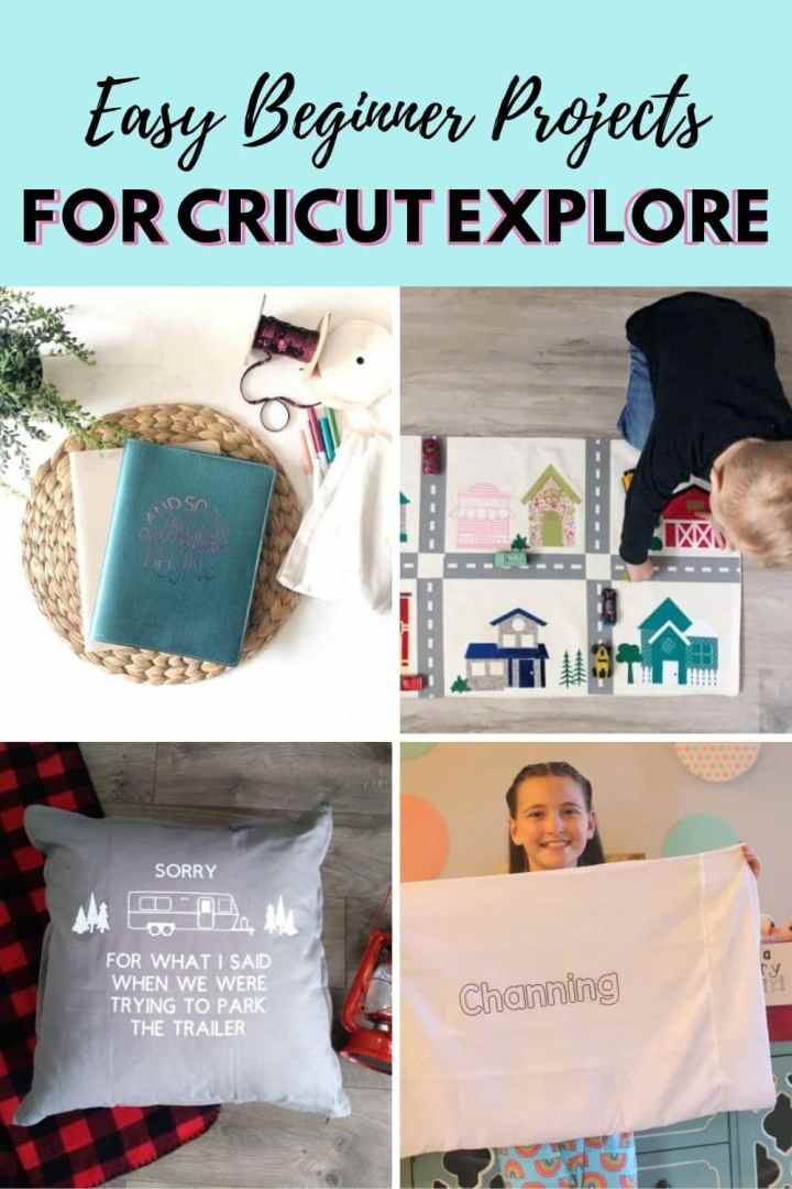 Easy Cricut Explore Air 2 Projects to get your machine out of the box and have you proudly sharing your projects with everyone you know. via @brookeberry