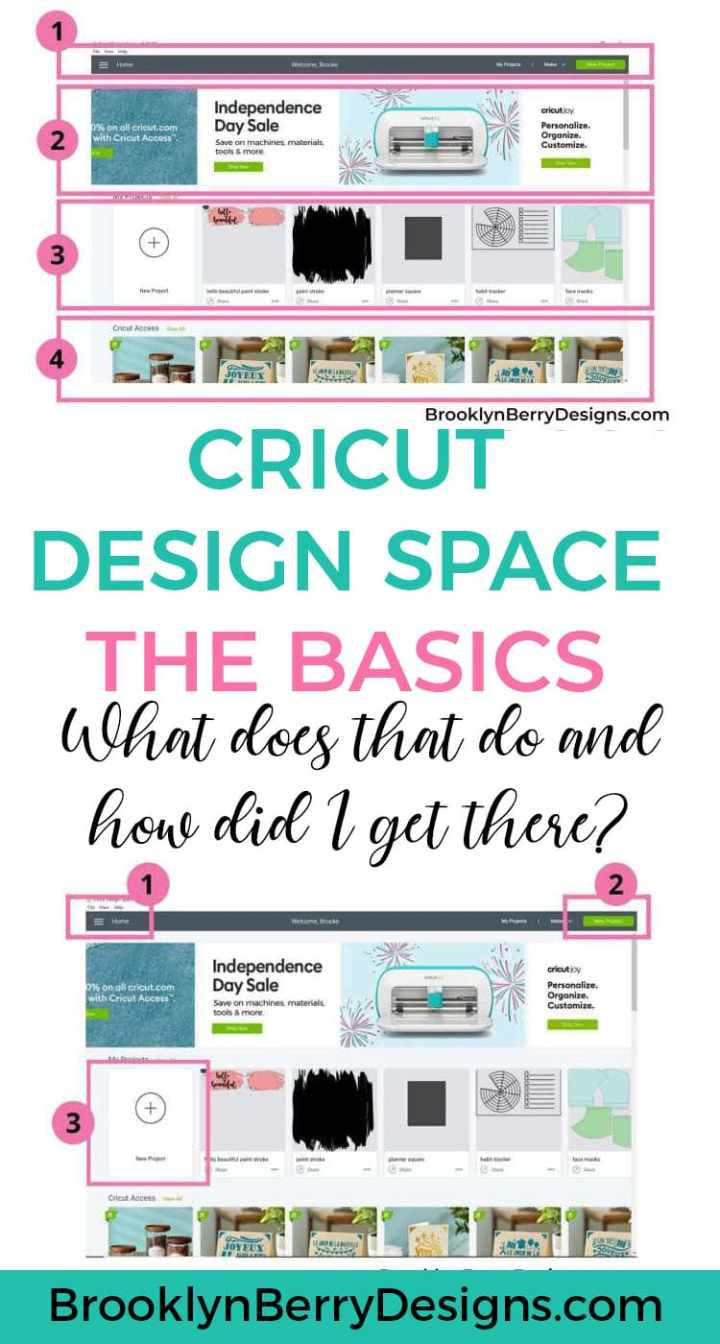 A very in depth tutorial on how to use Cricut Design Space for beginners first using their machines. Explains where every tool is and how to use it. via @brookeberry