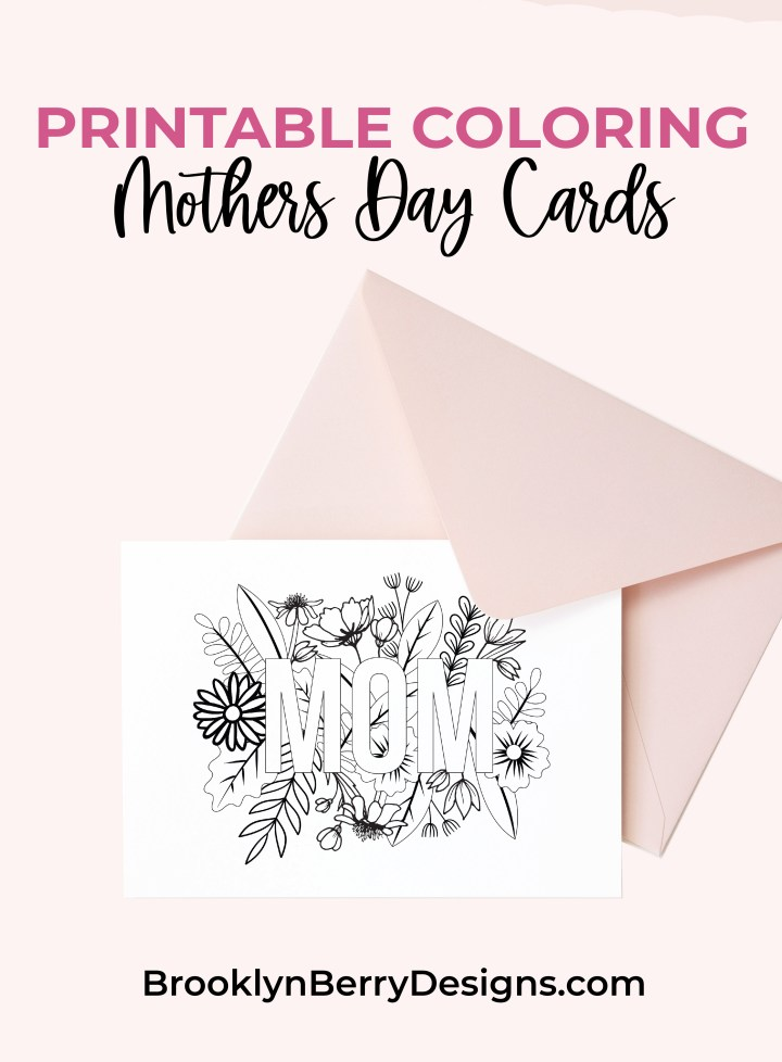Celebrate your mom, grab these free printable Mothers Day cards and let her know how much you appreciate her. via @brookeberry