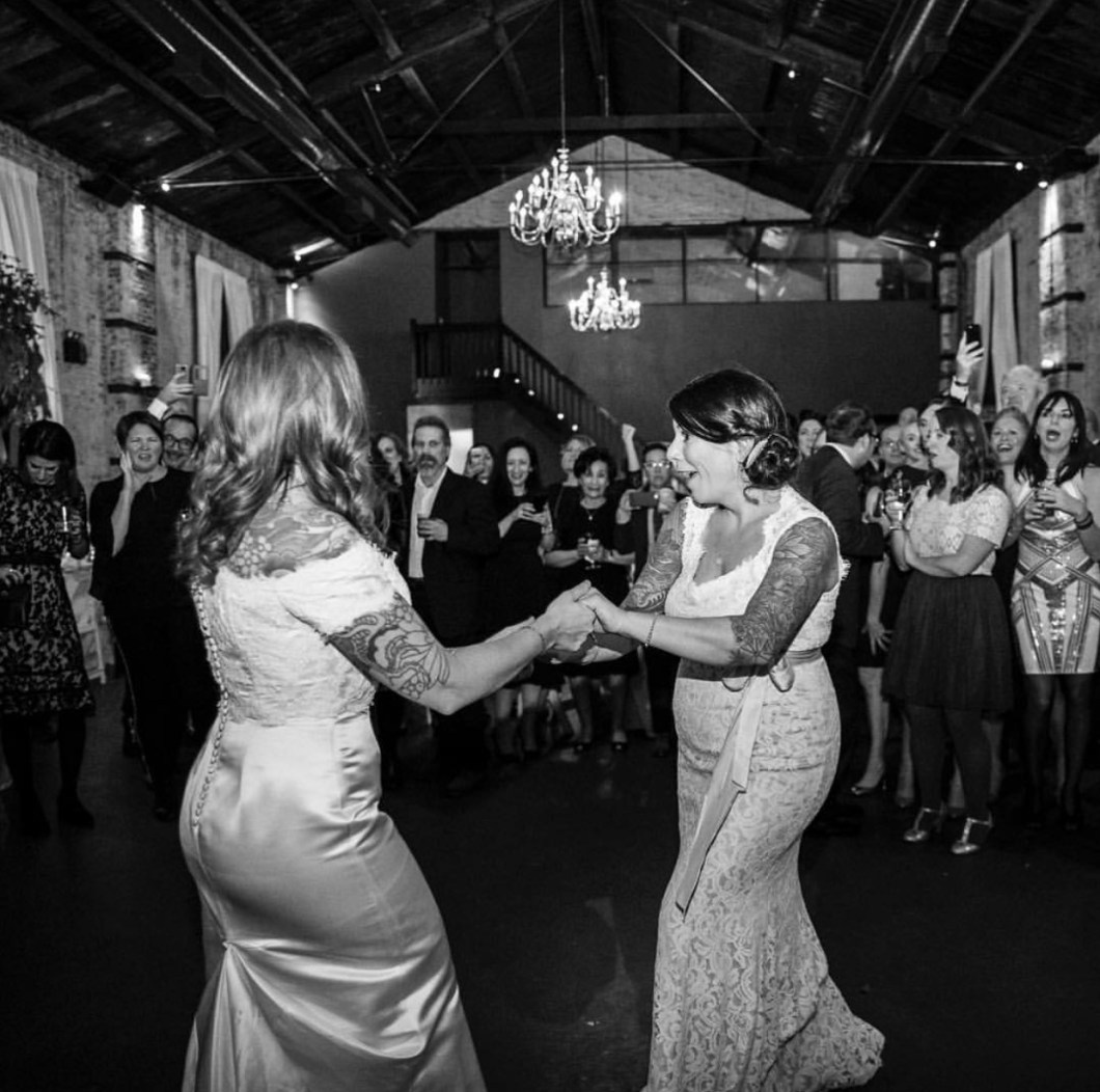 Dana and Allison's first dance. Wedding routine choreographed by Brooklyn Dance Lessons.