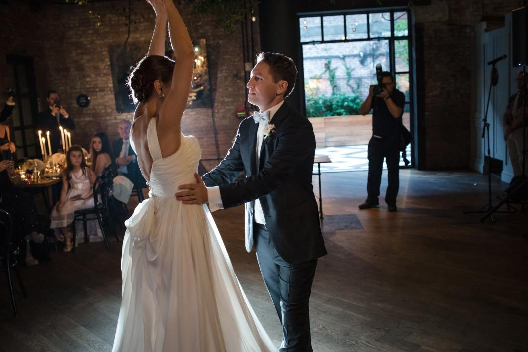 Ania and Adam's first dance. Wedding routine choreographed by Brooklyn Dance Lessons.