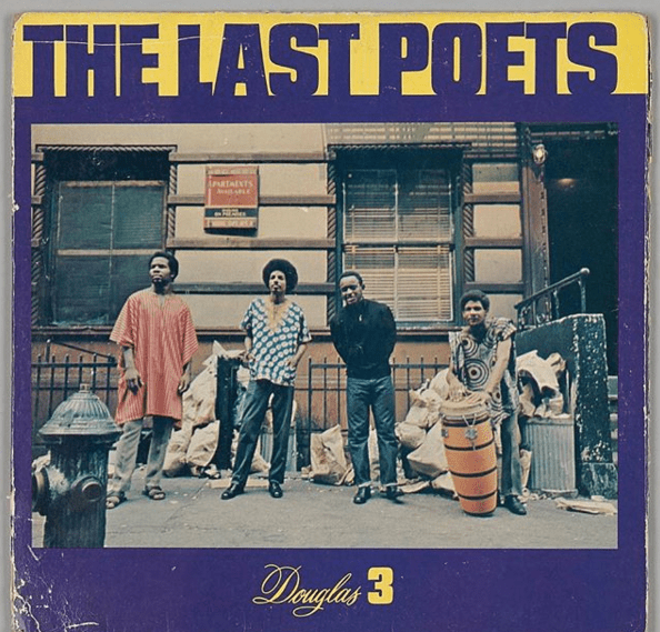 Cover art for The Last Poets' Self-titled 1970 debut album