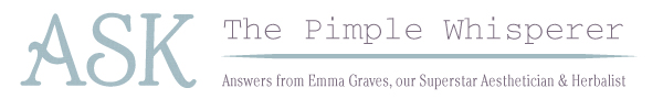 Ask the Pimple Whisperer
