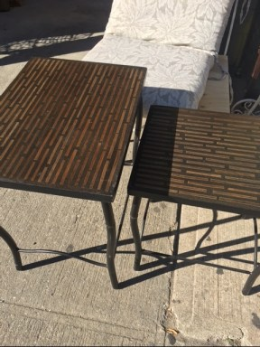 WOOD SMALL TABLES