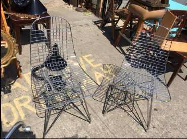 WIRE CHAIRS 2