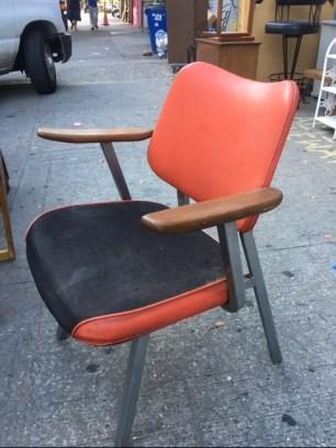 mid-century-orange-chair