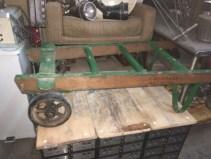 vintage-wood-cart-on-wheels