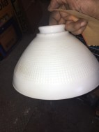 MILK GLASS SHADE