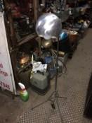 MID CENTURY LAMP BALL TYPE