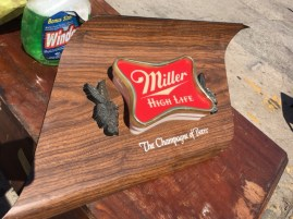 MILLER LIGHT UP SIGN