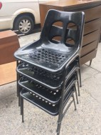 PLASSON MID CENTURY MODERN STACKING CHAIRS2