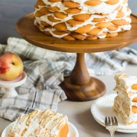 nectarines and cream icebox cake
