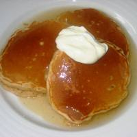 Apple Pancakes with Cider Sauce