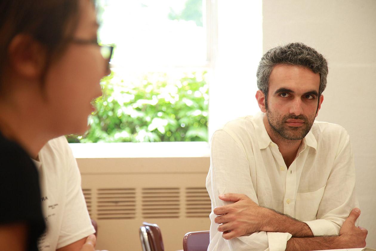 Jay Deshpande teaching