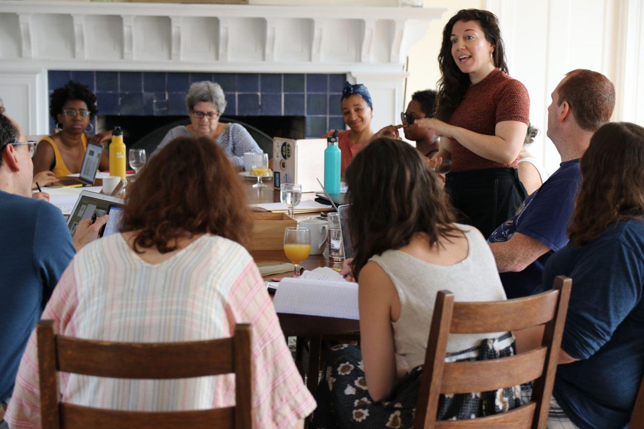Shira Erlichman teaching