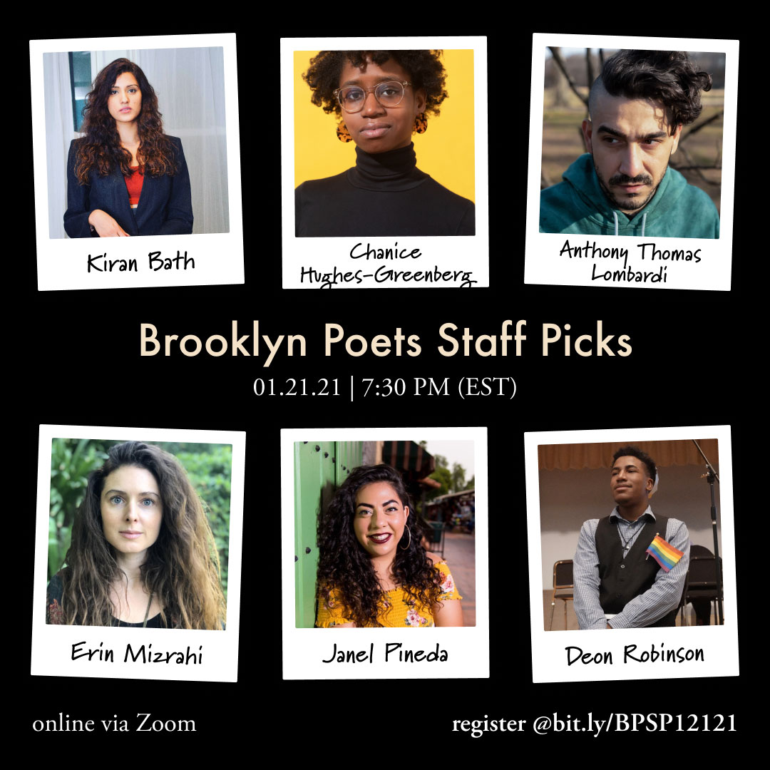 Brooklyn Poets Staff Picks
