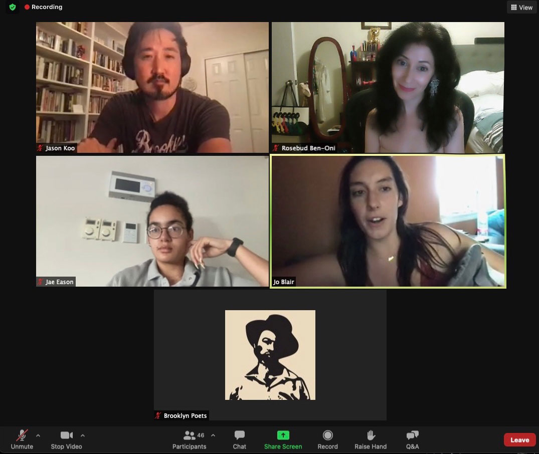 Brooklyn Poets Yawp with Rosebud Ben-Oni