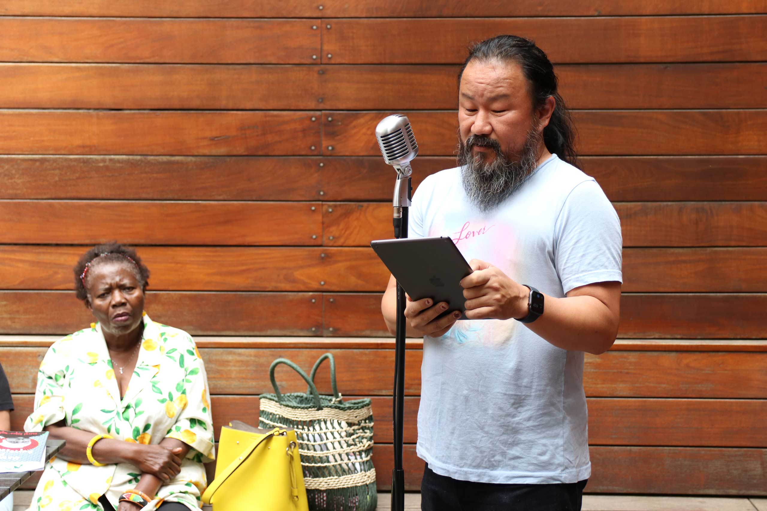 Chiwan Choi at the Brooklyn Poets Reading Series 7.18.21