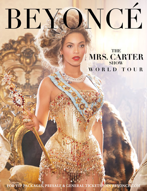 COLUMBIA RECORDS BEYONCE TOUR