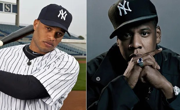71ee81eee4 He already made the Yankees hat more famous than a Yankee can… Now ESPN  reports that Jay launched Roc Nation Sports – Yankees  second baseman
