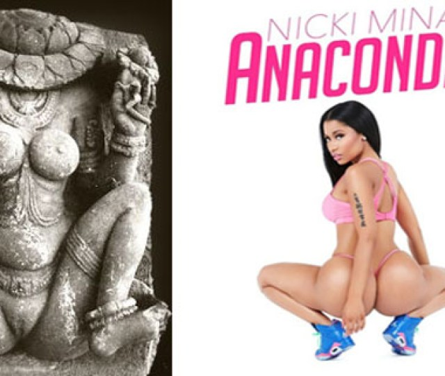 Ce Goddess Idol India V Nicki Minaj Anaconda Cover Art Image Katie Cercone
