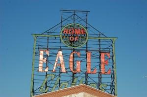 Iconic sign - Eagle clothes, Gowanus