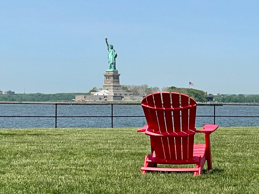 Miss Liberty from Governors Island
