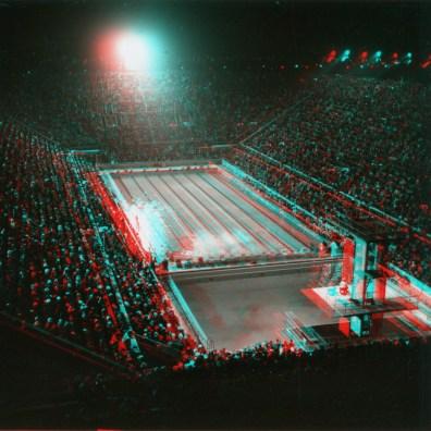 Berlin, closing ceremony in the swimming stadium