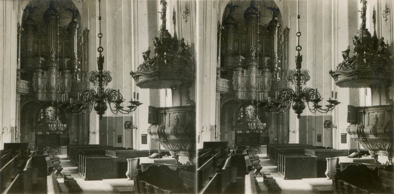 A stereoscopic 3D view from Carl Röhrig Verlag's Danzig.