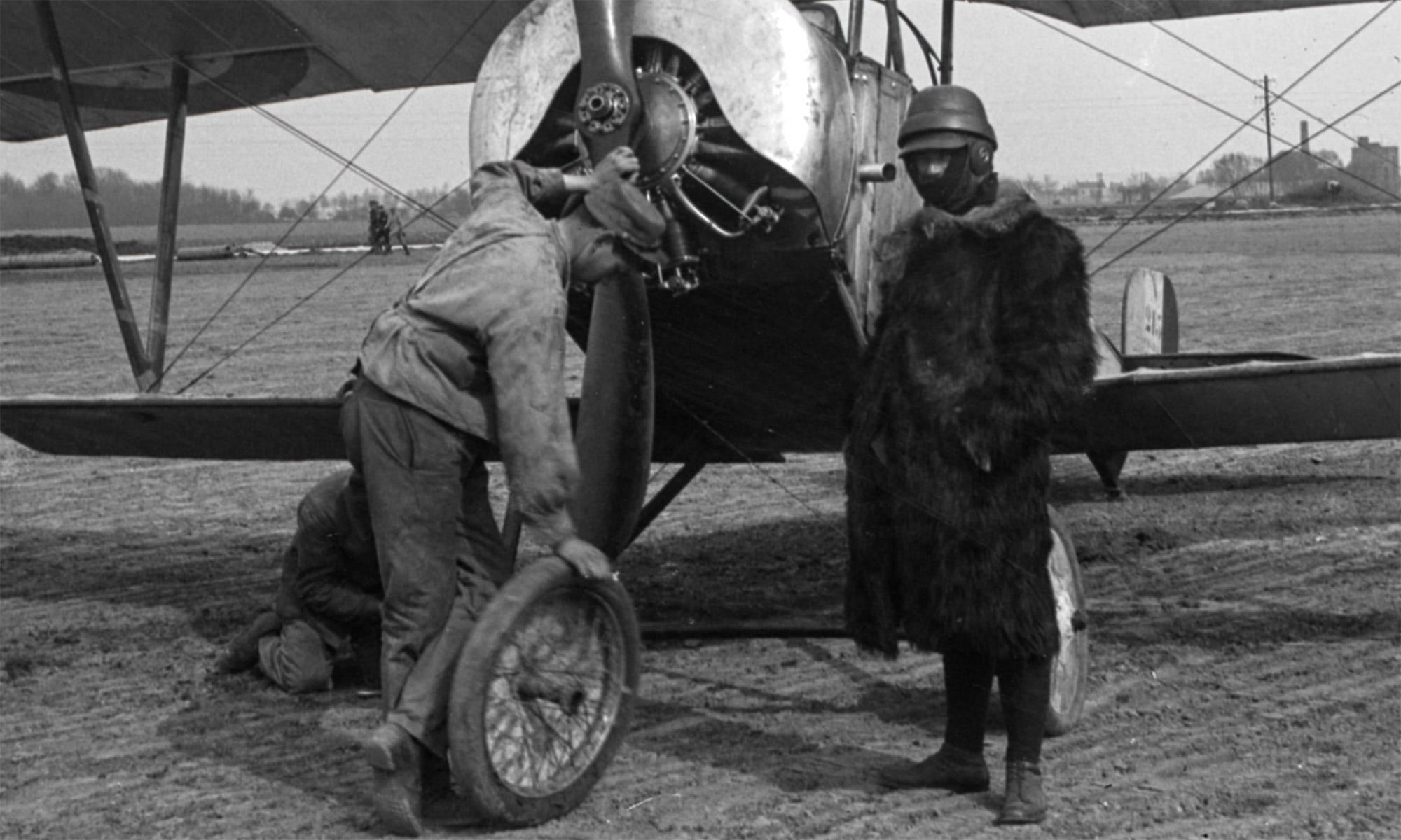 Header image by A. O. Fasser - a Nieuport XB Biplane