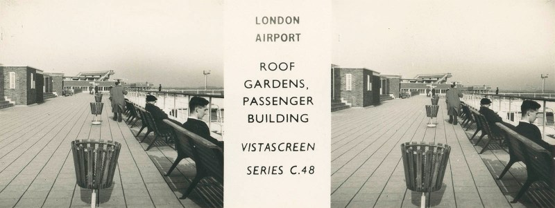 Heathrow Roof Gardens, Passenger Building