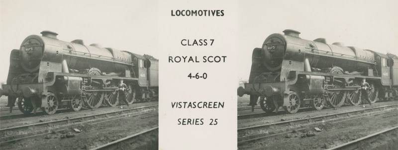 "VistaScreen Series 25 ""Locomotives"" - ""Class 7 Royal Scot 4-6-0"""