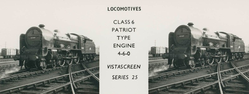 "VistaScreen Series 25 ""Locomotives"" - ""Class 6 Patriot Type Engine 4-6-0"""