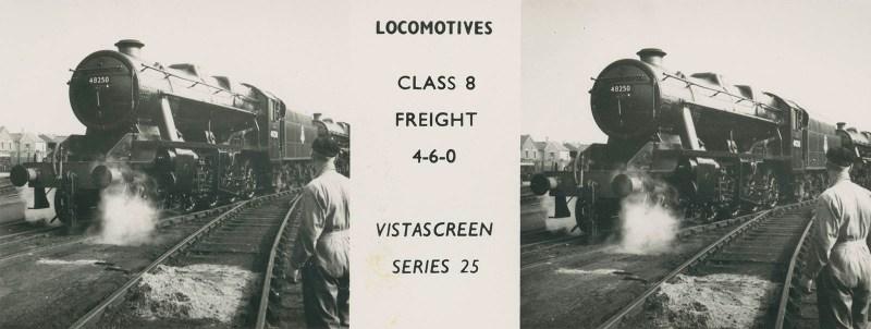 """VistaScreen Series 25 """"Locomotives"""" - """"Class 8 Freight 4-6-0"""""""