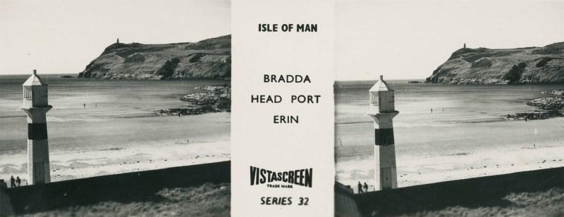 Vistascreen Series 32 The Isle of Man (Ellan Vannin) - Bradda Head Port Erin