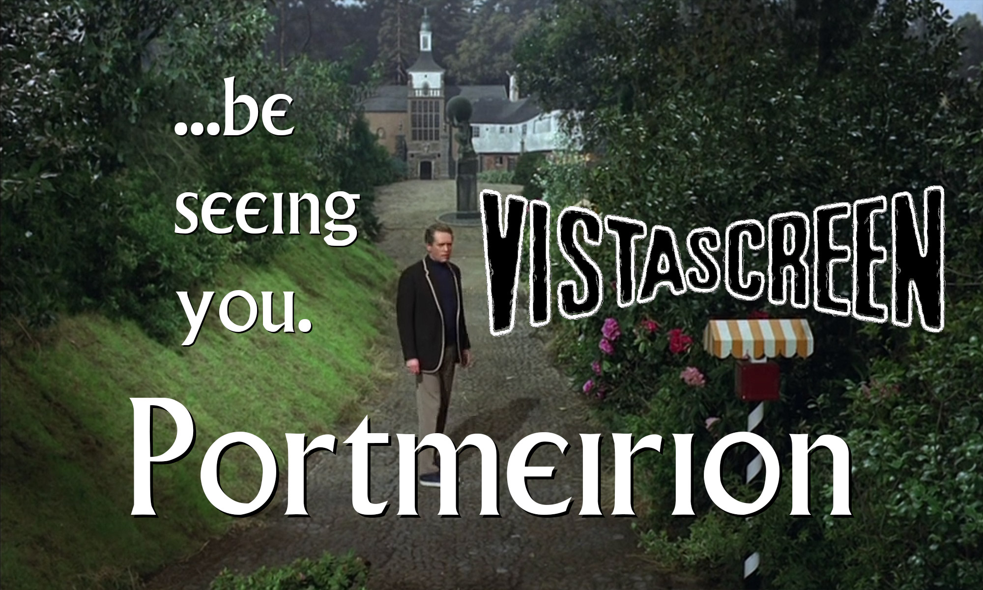 "Be Seeing You: Portmeirion, The Village from ITV's ""The Prisoner"", in 3D"