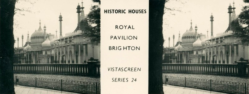 "Royal Pavilion Brighton, from VistaScreen Series 24 ""Historic Houses"""