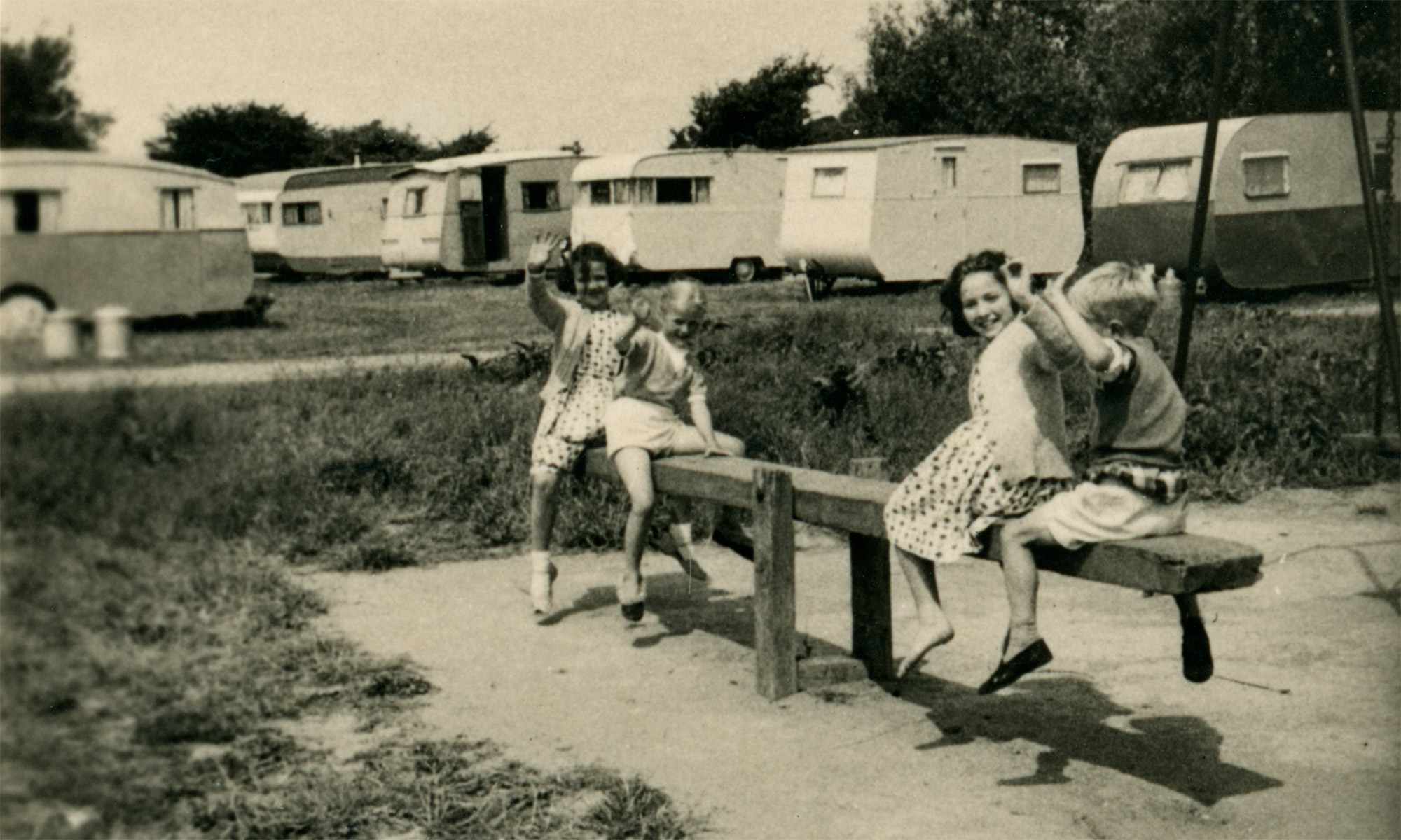Lakeside Holiday Park, Burnham-on-Sea – As it Was in late 1950s VistaScreen 3D Souvenir Snaps