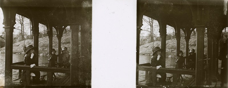 Random European Glass Stereoview #29