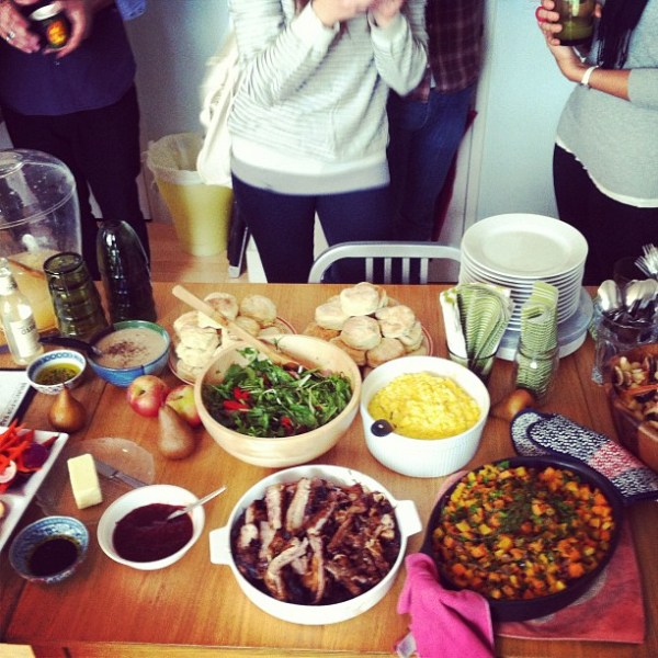 Brunch for Barack spread; image by Veronica Chan