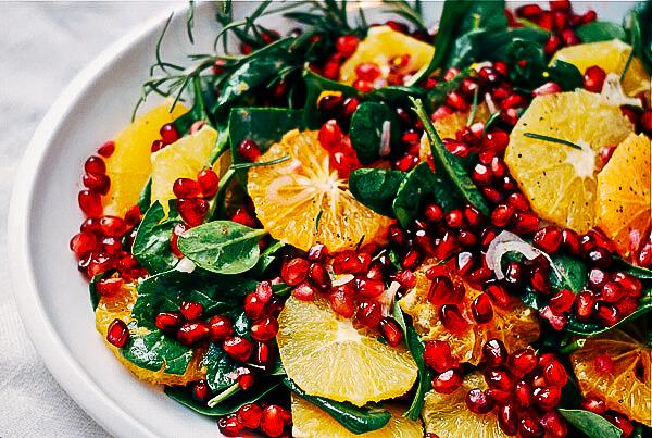 orange and pomegranate salad // brooklyn supper