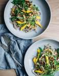 halloumi and mango noodle salad // brooklyn supper