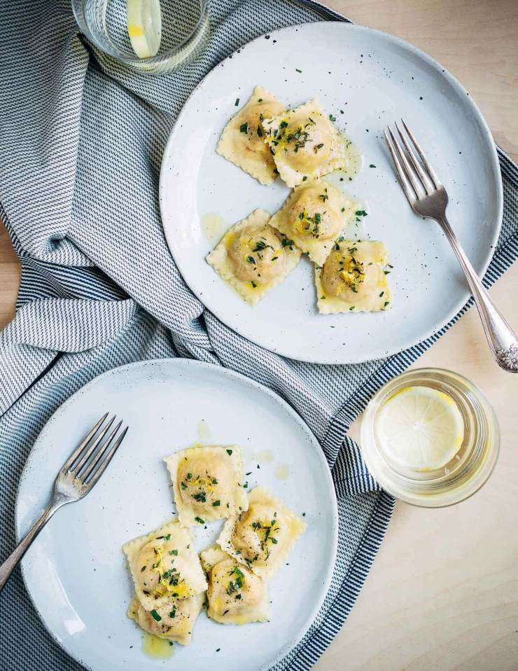 kabocha squash ravioli // brooklyn supper