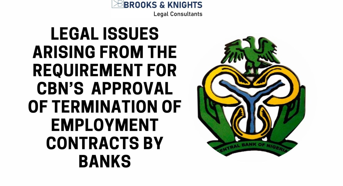 CBN Approval for Termination of Employment